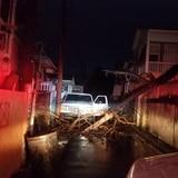 Vientos de tormenta Isaías causan daños menores