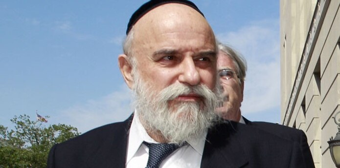Levy Izhak Rosenbaum  fue arrestado en 2009, en un caso federal amplio que se convirtió en el mayor operativo anticorrupción de la historia de Nueva Jersey. (Archivo)