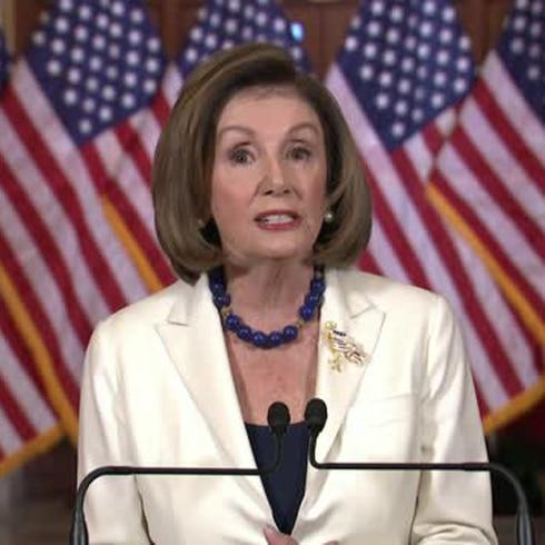 "Pelosi anuncia el ""impeachment"" contra Trump en la Cámara Baja"