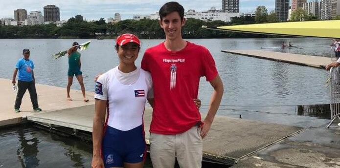 Verónica Toro y William Purman serán los primeros atletas de remo de Puerto Rico en unos Juegos Panamericanos, desde Indianápolis 1987.