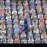 Fanáticos de cartón en el MLB debido a la pandemia