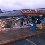 Tornado arrasa con estructuras en Mississippi