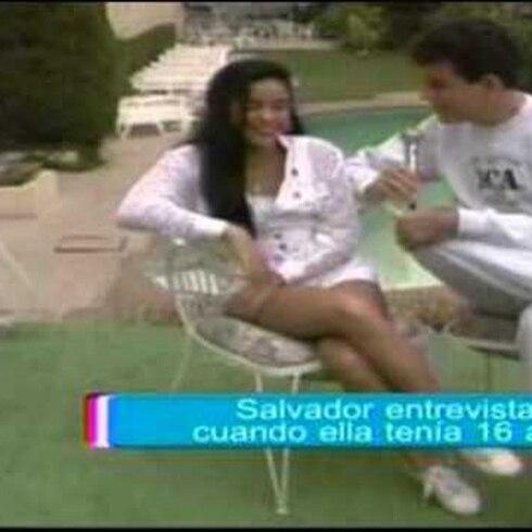 Irreconocible Shakira en entrevista de 1993