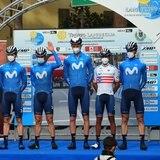 Abner González termina número 61 en su segundo evento del UCI World Tour