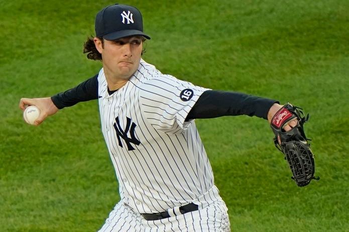 El abridor de los Yankees de Nueva York, Gerrit Cole, ponchó a 13 el martes ante los Orioles de Baltimore.