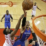 Houston sobrevive a Russell Westbrook