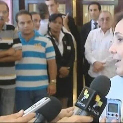 Sobrina de Fidel Castro está viva