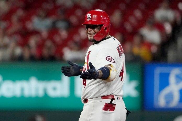 Yadier Molina bateó de 5-3 y se recibió la blanqueada de los Cardinals ante los Mets.