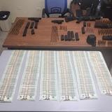 Ocupan armas, balas, cargadores y dinero en Cupey