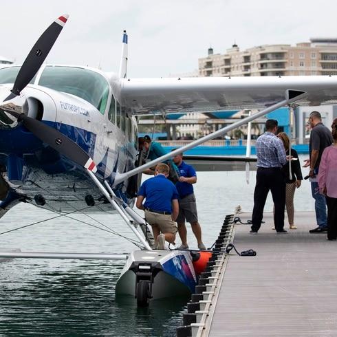 """San Juan se convierte en el """"punto estratégico"""" de este avión anfibio"""