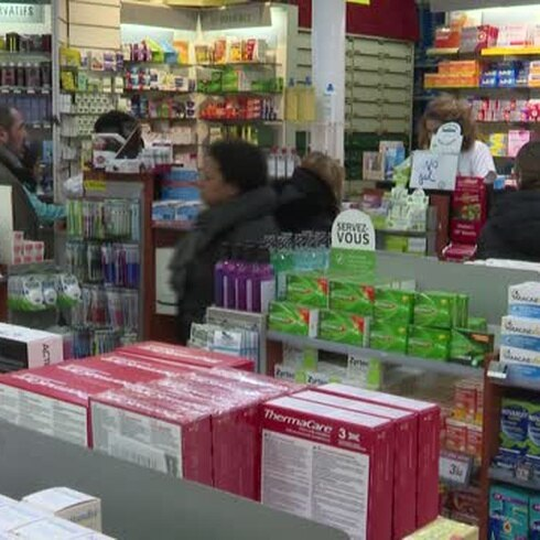 El afán por protegerse del coronavirus llegó a las farmacias de todo el mundo