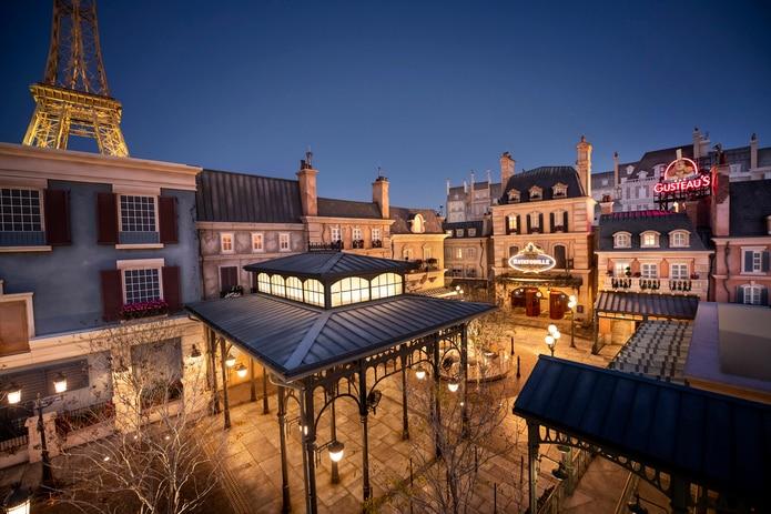 El pabellón de Francia fue ampliado recientemente, e inaugurará además un restaurante.