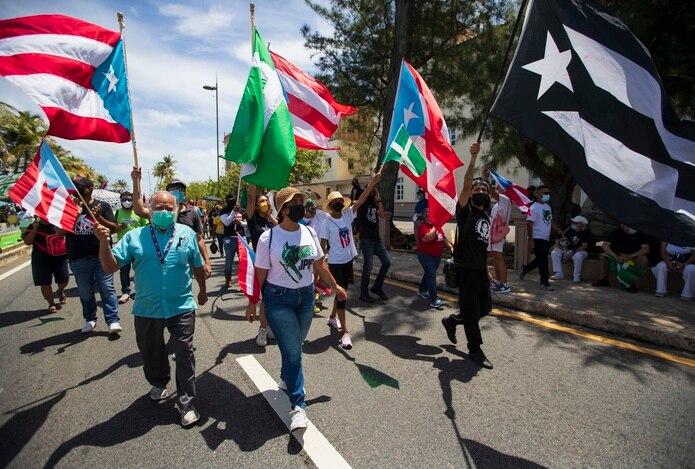 Originalmente, la protesta, en repudio a los llamados cabilderos de la estadidad, se planificó para el pasado15 agosto y se pospuso para hoy domingo.