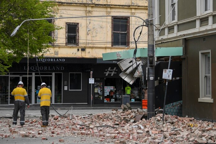 El sismo se produjo unas 80 millas al noreste de la segunda ciudad más poblada de Australia.