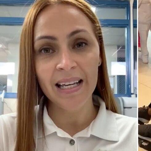 Conmovedor gesto de nutricionista a paciente con coronavirus en hospital de Ponce