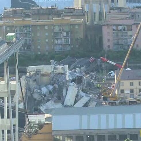 Declaran la guerra a la empresa que gestionaba el puente que colapsó en Génova