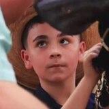 Niños muestran sus dotes en el manejo del ganado