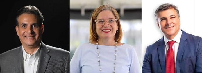 """En lo que coinciden Eduardo Bhatia, Carmen Yulín Cruz Soto y Carlos """"Charlie"""" Delgado Altieri es que una de las alternativas para aliviar la crisis recae en el  movimiento cooperativista."""
