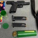 Arrestan joven con arma de fuego y marihuana en Fajardo