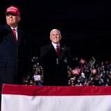 Mike Pence desafía a Trump