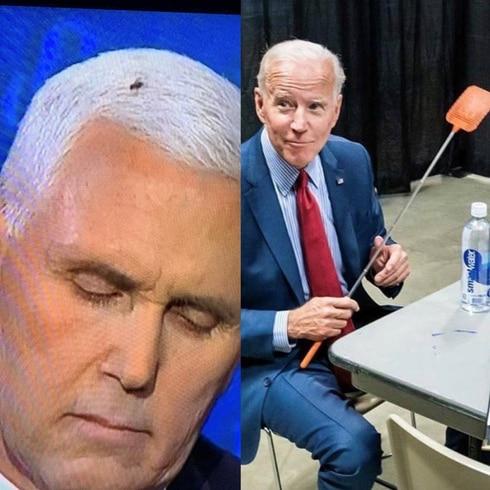 Los mejores memes de la mosca en la cabeza de Mike Pence