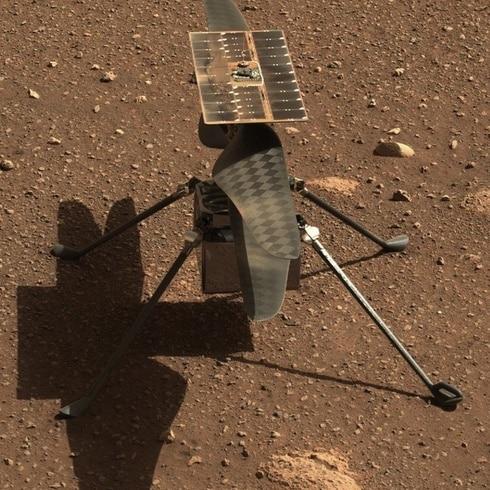 NASA celebra histórico vuelo del Ingenuity en Marte