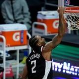 Leonard guía triunfo de Clippers sobre el Thunder