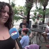 La tormenta Karen no le metió miedo a estos turistas en Culebra