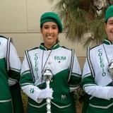 Tres chicas dirigirán la Banda del RUM en el Desfile de las Rosas