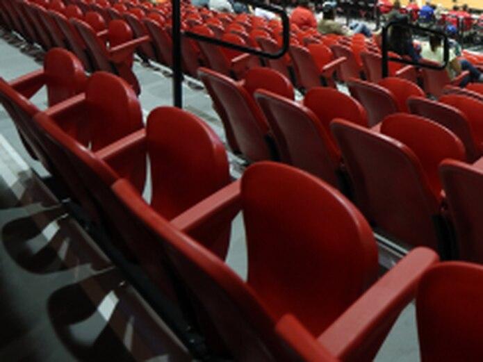 En los últimos partidos de los Caciques, la gerencia de Humacao informó que vendieron 100 taquillas o menos por juego en el Humacao Arena. (juan.martinez@gfrmedia.com)