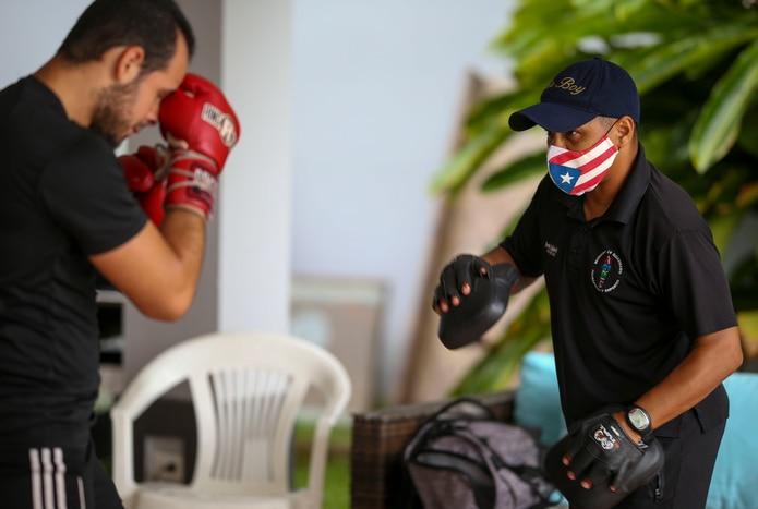 Durante los pasados años, Iván Calderón se ha dedicado a entrenar boxeadores  como Yomar Alamo, entre otros.