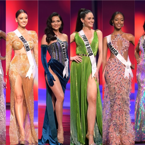 Miss Universe: las 74 candidatas en traje de gala