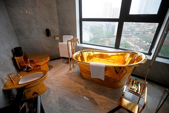 Una habitación del hotel Dolce by Wyndham Hanoi Golden Lake.