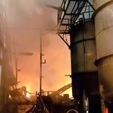 Incendio de grandes proporciones en Yabucoa