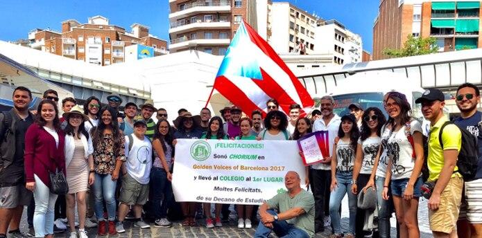 La gesta de los puertorriqueños en Golden Voices of Barcelona, uno de los mayores concursos corales del mundo, se logró tras la celebración de un sinnúmero de actividades. (Suministrada)