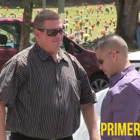 Padre del voleibolista recuerda a su hijo durante el velatorio