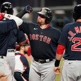 Christian Vázquez la saca con las bases llenas y los Red Sox arrollan a los Braves