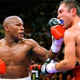 Oscar de la Hoya tentará a Floyd Mayweather con una oferta de $100 millones para pelear