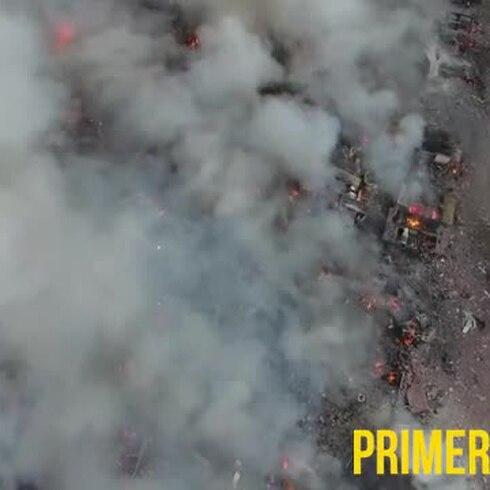 Más de 20 muertos en explosión en México