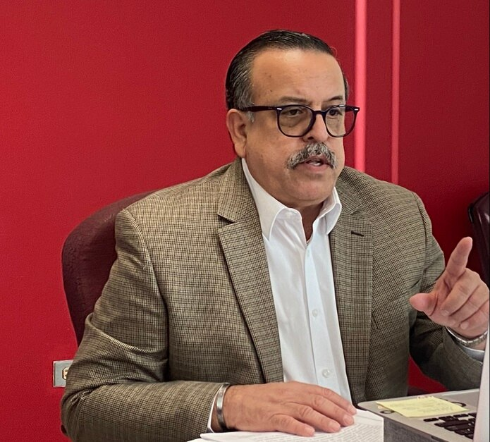 Comisionado electoral del Partido Popular Democrático (PPD), Gerardo Cruz Maldonado.