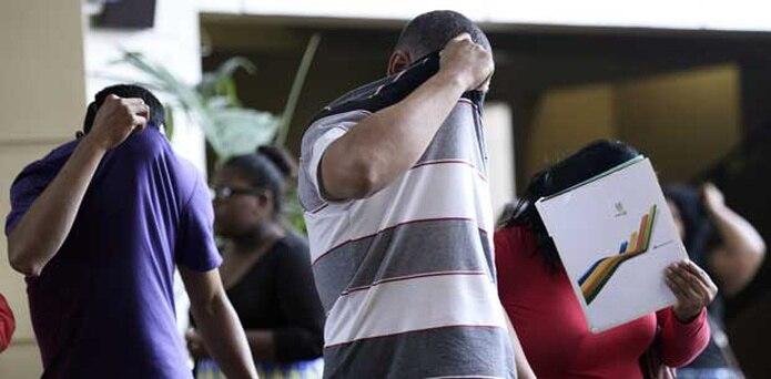 Varias personas comparecieron al tribunal de Carolina hoy por el caso de la menor que a los 11 años quedó embarazada presuntamente de uno de ocho agresores sexuales. (GERALD.LOPEZ@GFRMEDIA.COM)