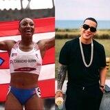 Jasmine Camacho-Quinn emocionada con el mensaje de Daddy Yankee