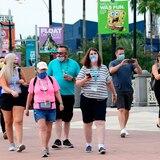 Universal de Orlando se llena a los 10 minutos de abrir