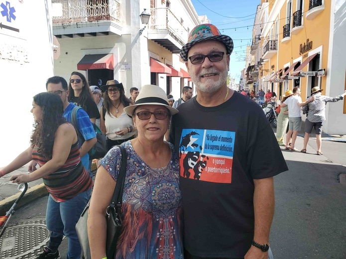 Orlando Ortiz e Ivette Ayala (Rosa Escribano Carrasquillo Rosa.escribano@gfrmedia.com)