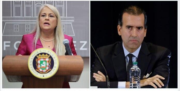 La gobernadora Wanda Vázquez rechazó el acuerdo anunciado por el presidente de la Junta de Supervisión FIscal, José Carrión.