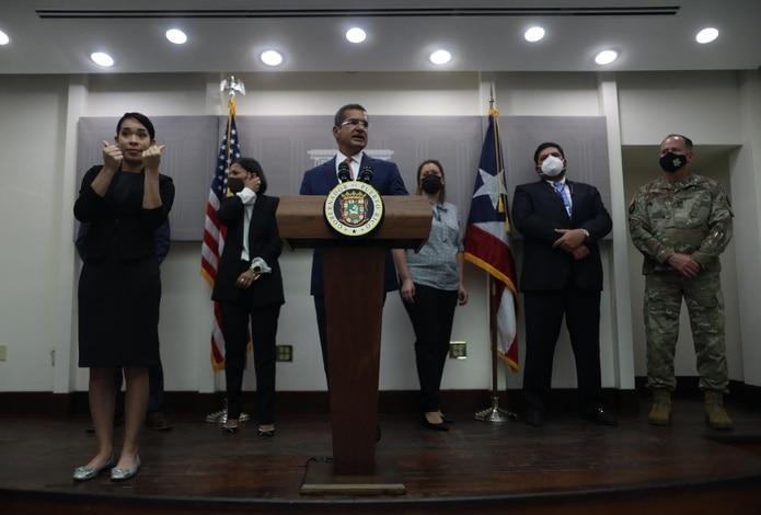 Pedro Pierluisi sostuvo hoy una reunión con miembros de su gabinete, en la que se tocaron diversos temas como la pandemia del COVID-19, la reestructuración del país, entre otros asuntos.