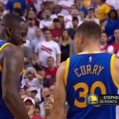 Espectacular noche se Stephen Curry