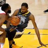 Durant fuera por lesión del resto de la serie ante los Rockets