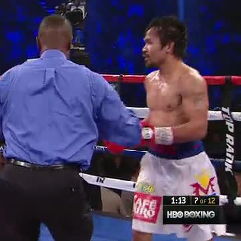 Pelea entre Manny Pacquiao vs. Timothy Bradley II - 2014