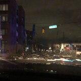 Tornados destruyen más de 40 estructuras en Nashville
